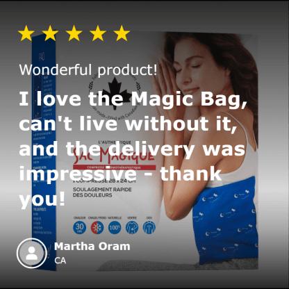 5-star-review-for-magic-bag-classic-pad