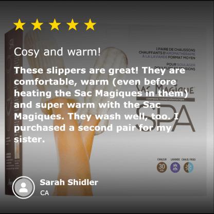 5-star-review-magic-bag-spa-heatable-slippers