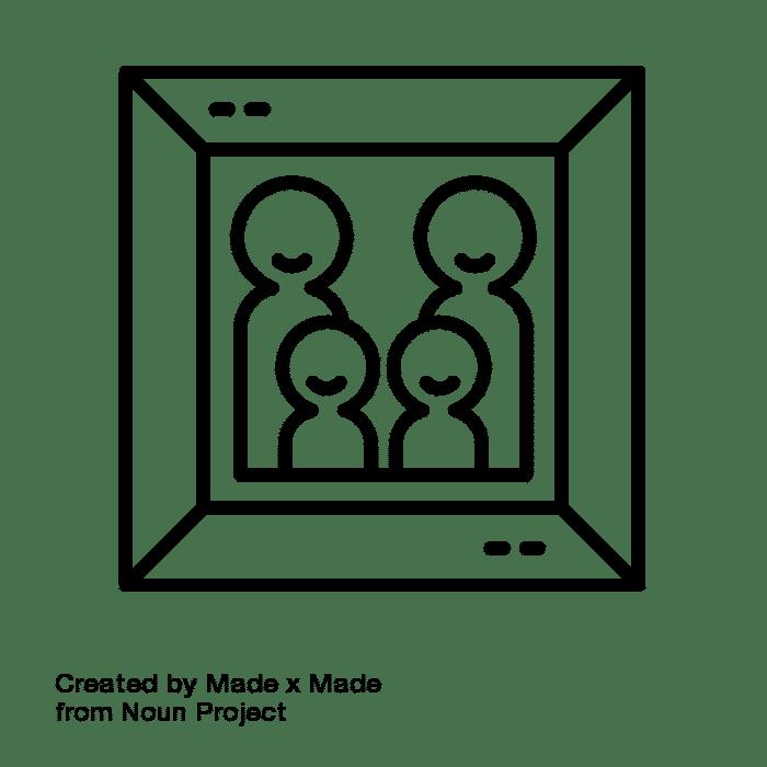 family photo icon